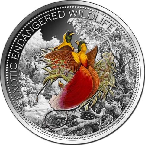 Fiji 2012 Paradise Bird 2oz Ultra High Relief Silver Coin