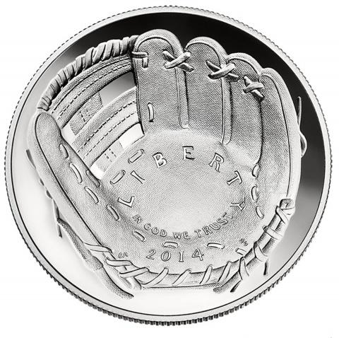 National Baseball Hall of Fame Silver Dollar Proof