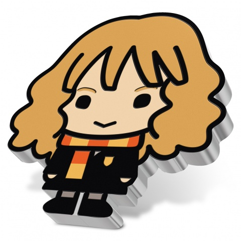 Hermione Granger - Chibi Harry Potter series 1 oz Silver Coin