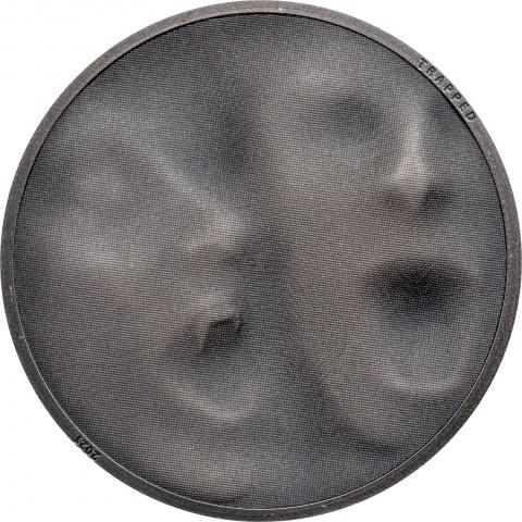 Trap Attack 1 oz silver coin reverse