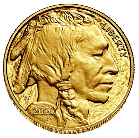 American Buffalo1 oz gold coin USA 2020