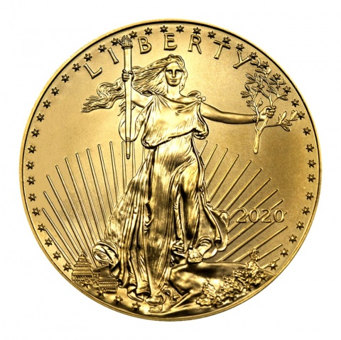 American Eagle 1oz Gold Coin USA 2020
