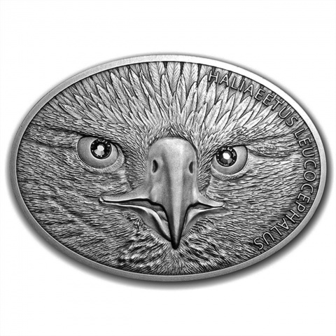 Bald Eagle Silver 1oz Fascinating Wildlife