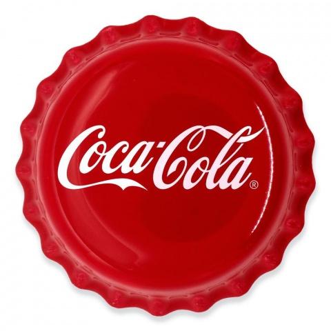 Coca-Cola Bottle Cap Silver Coin