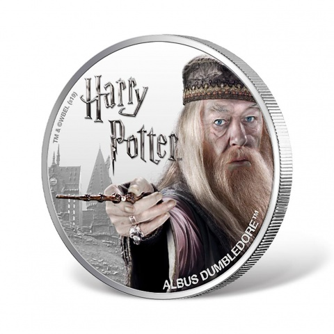 Harry Potter Series-Albus Dumbledore 1oz Silver Coin