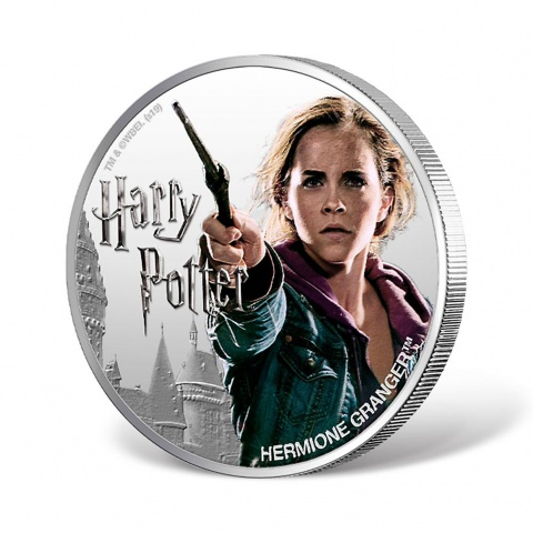 Harry Potter Series-Hermione Granger 1oz Silver Coin