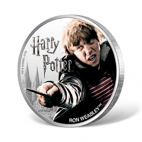 Harry Potter Series-Ron Weasley 1oz Silver Coin