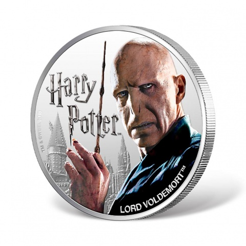 Harry Potter Series-VOLDEMORT 1oz Silver Coin